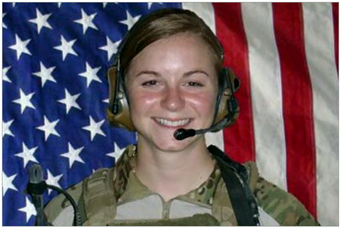 Army 1stLt Ashley White
